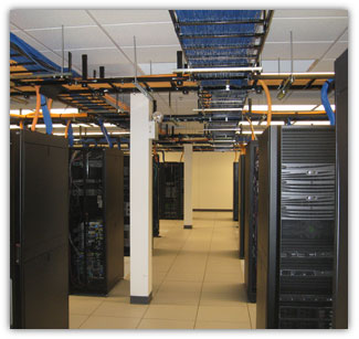 data room, low voltage cable raceway