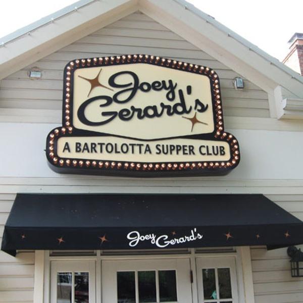 Joey Gerard's restaurant sign