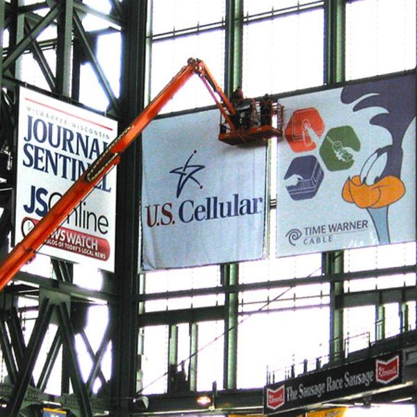 Miller Park sports complex signage