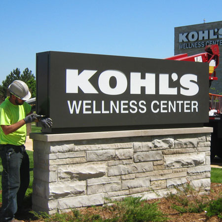 Kohl's corporate office sign