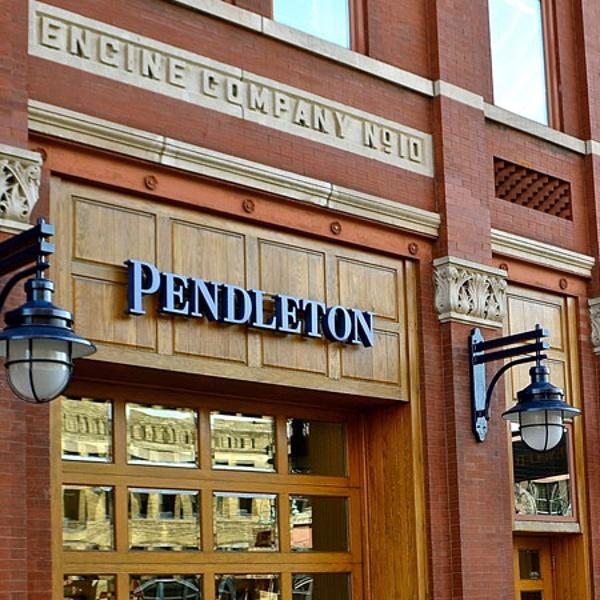 Pendleton exterior sign