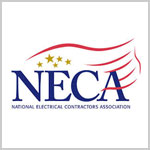 Logo for the NECA, National Electrical Contractors Association
