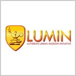 Logo for LUMIN, Lutheran Urban Mission Initiative