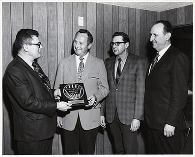 Historical leadership at Lemberg, 1952