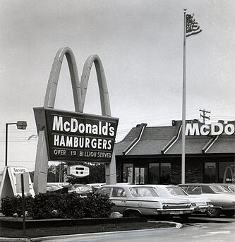 McDonald's, Lemberg customer, 1960