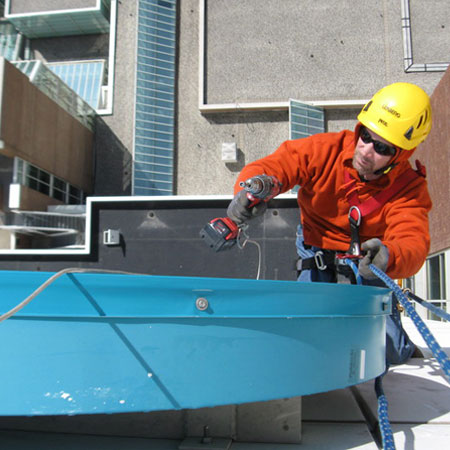 High Rise Signs - Rappel Work