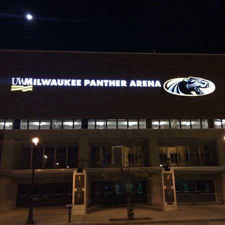 New UW-Milwaukee Sign - Lemberg