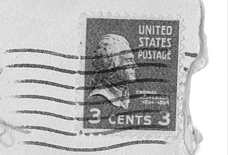 Image of a 3-cent stamp from 1950