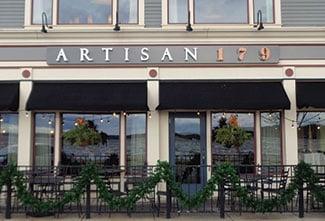 Artisan 179 pub and restaurant, Pewaukee, Wisconsin (a Lemberg client)