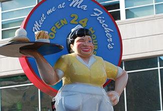 Ma Fischers Diner, Milwaukee, Wisconsin (a Lemberg client)