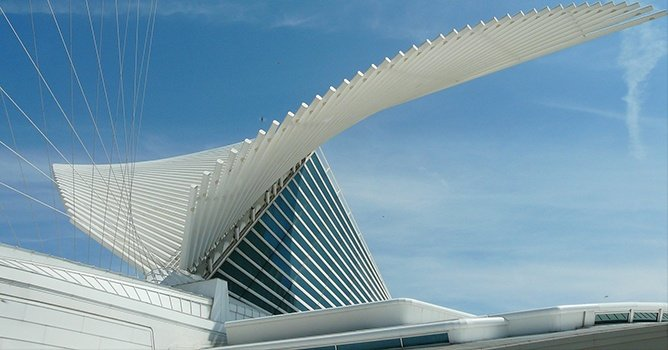 Milwaukee Art Museum, Santiago Calatrava