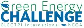 Logo for the ELECTRI International, NECA Green Energy Challenge