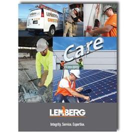 IMG: Lemberg's brand brochure