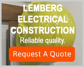 image: Lemberg Electrical Construction. Reliable quality. Request a quote.