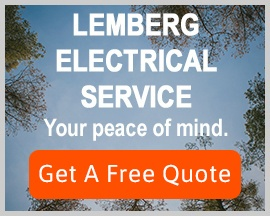 image and button for electrical service: Get a free quote.